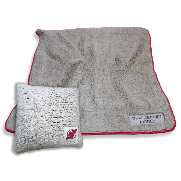 Logo New Jersey Devils Frosty Blanket And Pillow Bundle product image