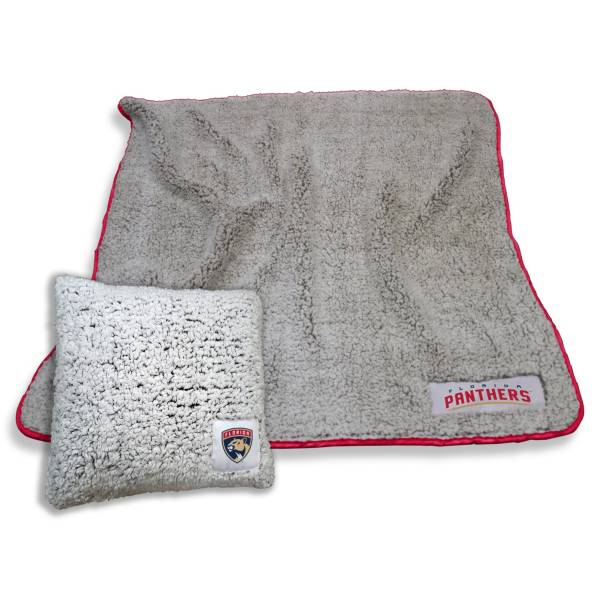 Logo Florida Panthers Frosty Blanket And Pillow Bundle product image