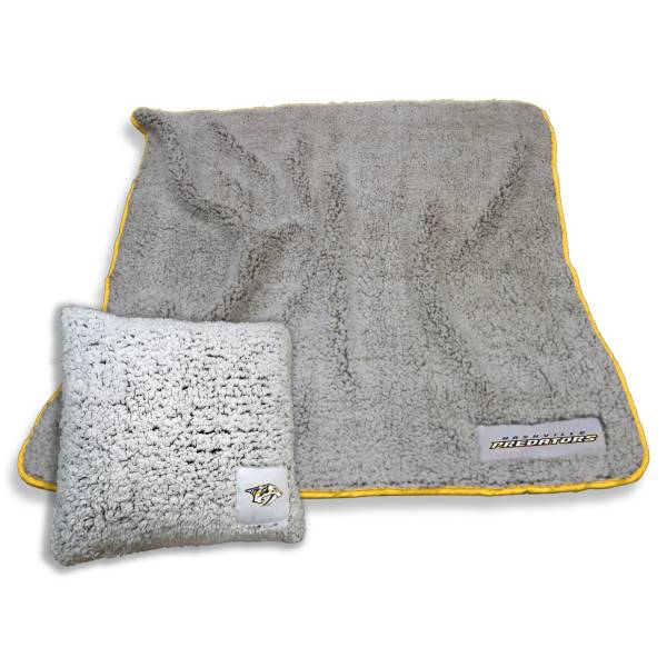 Logo Nashville Predators Frosty Blanket And Pillow Bundle product image