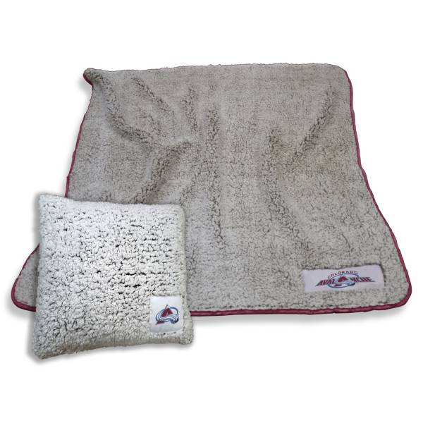 Logo Colorado Avalanche Frosty Blanket And Pillow Bundle product image