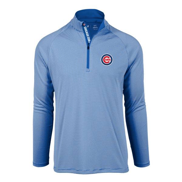 Levelwear Men's Chicago Cubs Blue Orion Quarter-Zip Shirt product image