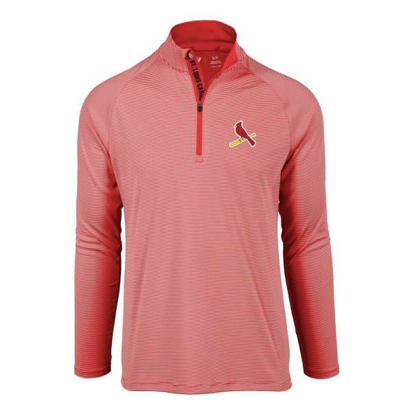 Levelwear Men's St. Louis Cardinals Red Orion Quarter-Zip Shirt product image