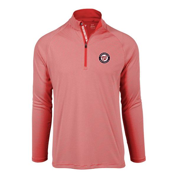 Levelwear Men's Washington Nationals Red Orion Quarter-Zip Shirt product image
