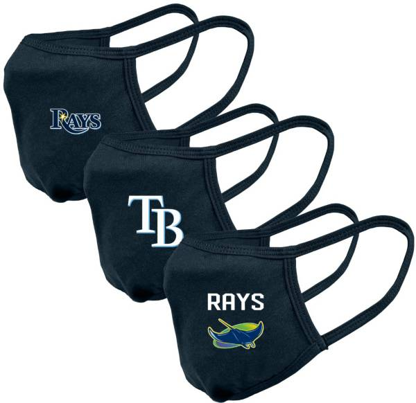 Levelwear Adult Tampa Bay Rays 3-Pack Face Coverings product image