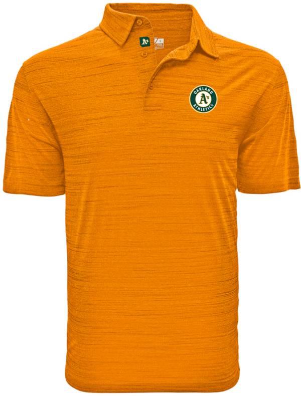 Levelwear Men's Oakland Athletics Yellow Sway Polo product image