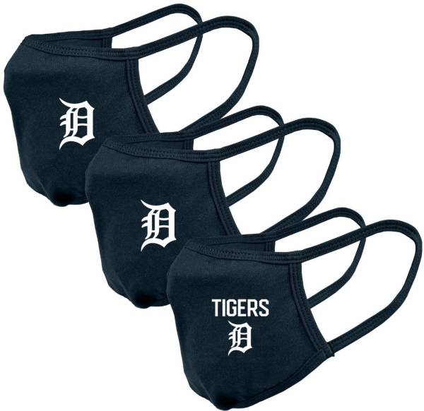 Levelwear Adult Detroit Tigers 3-Pack Face Coverings product image