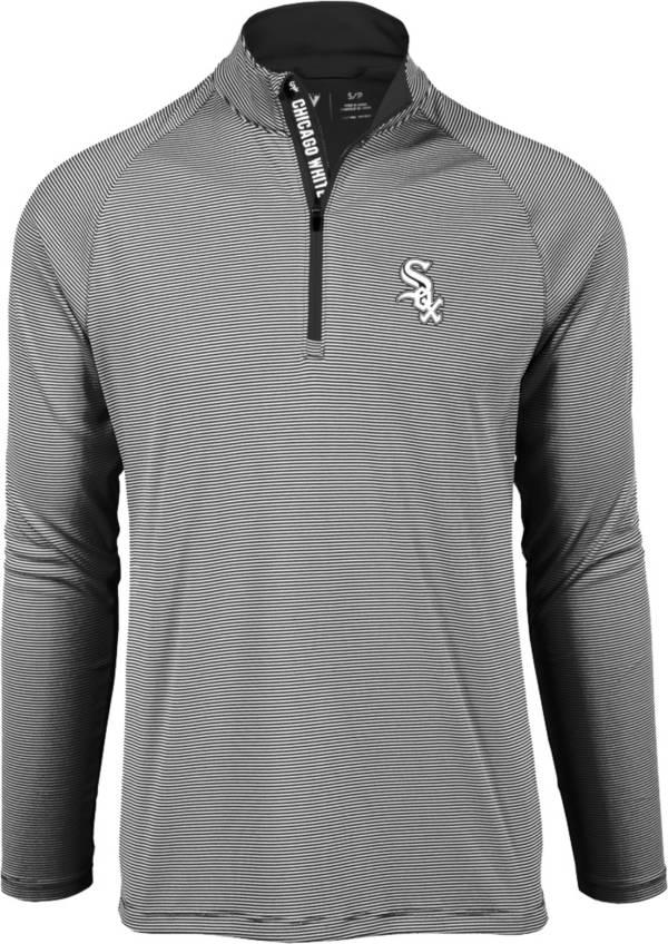 Levelwear Men's Chicago White Sox Black Orion Quarter-Zip Shirt product image