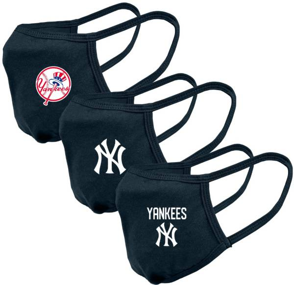 Levelwear Adult New York Yankees 3-Pack Face Coverings product image