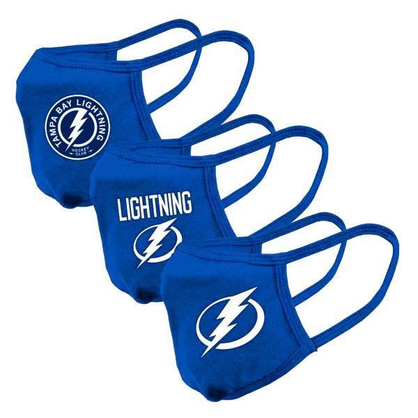Levelwear Adult Tampa Bay Lightning 3-Pack Face Coverings product image