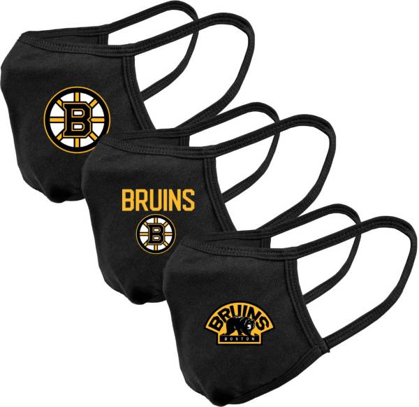 Levelwear Youth Boston Bruins 3-Pack Face Coverings product image