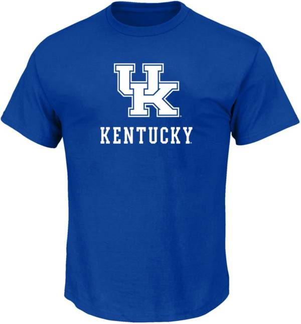 Majestic Men's Big and Tall Kentucky Wildcats Royal Short Sleeve T-Shirt product image