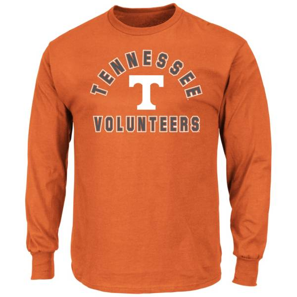 Majestic Men's Big and Tall Tennessee Volunteers Long Sleeve T-Shirt product image