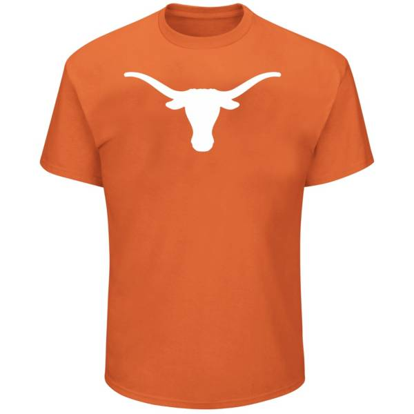 Majestic Men's Big and Tall Texas Longhorns Long Sleeve T-Shirt product image