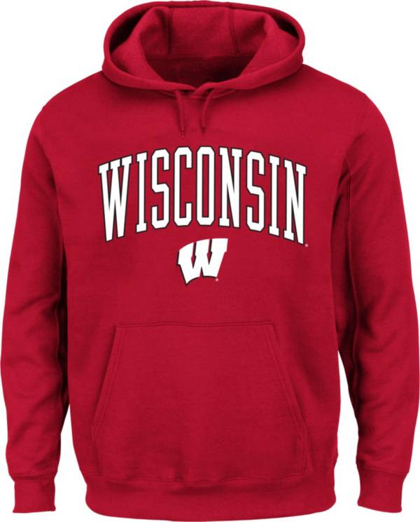 Fanatics Men's Wisconsin Badgers Red Fleece Hoodie product image