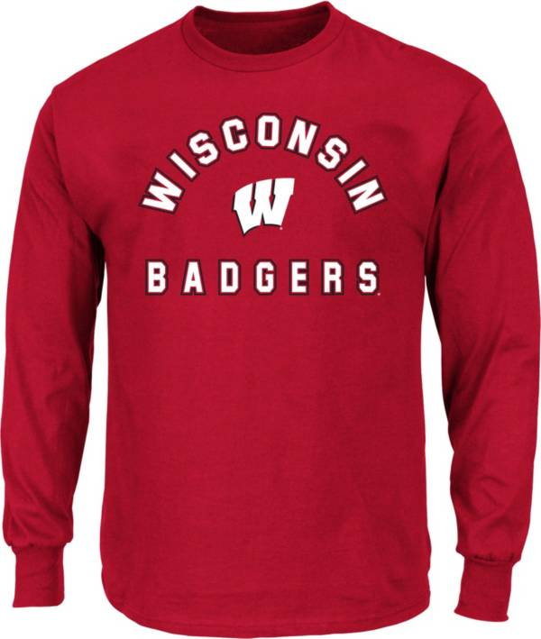 Fanatics Men's Wisconsin Badgers Logo Long Sleeve T-Shirt product image