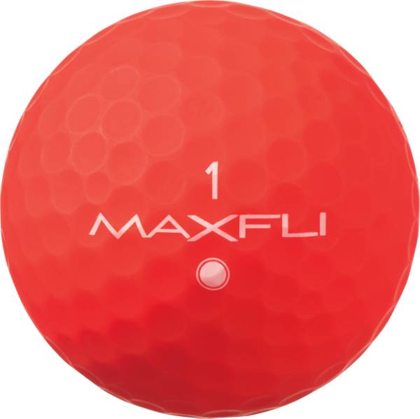 Maxfli SoftFli Matte Golf Balls – Red product image