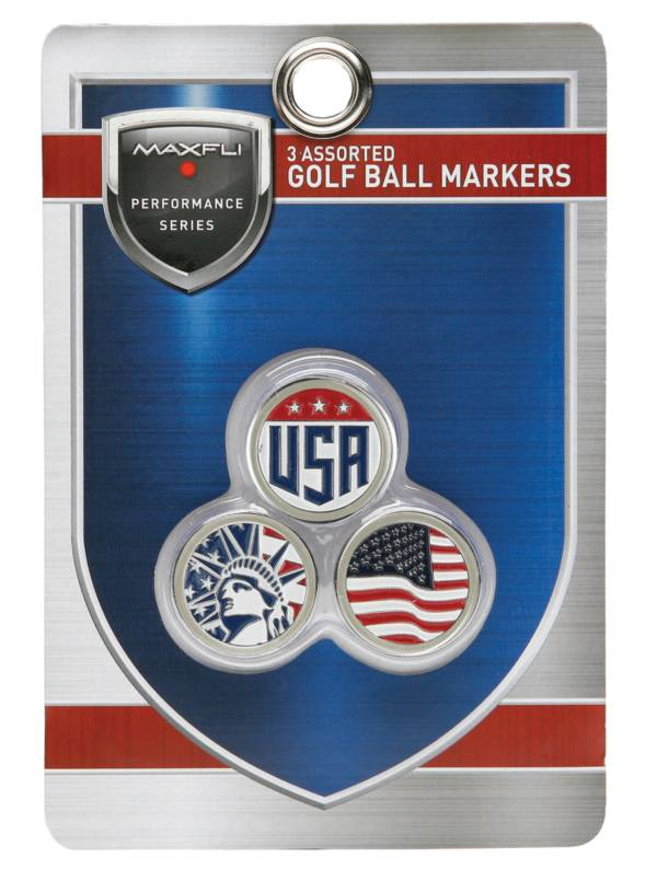 Maxfli USA Ball Markers – 3pk product image