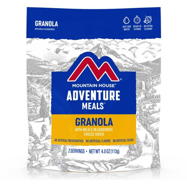 Mountain House Granola with Milk and Blueberries product image
