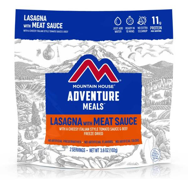 Mountain House Lasagna with Meat Sauce Pouch product image