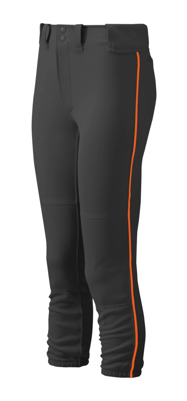 Mizuno Girls' Belted Piped Softball Pants product image