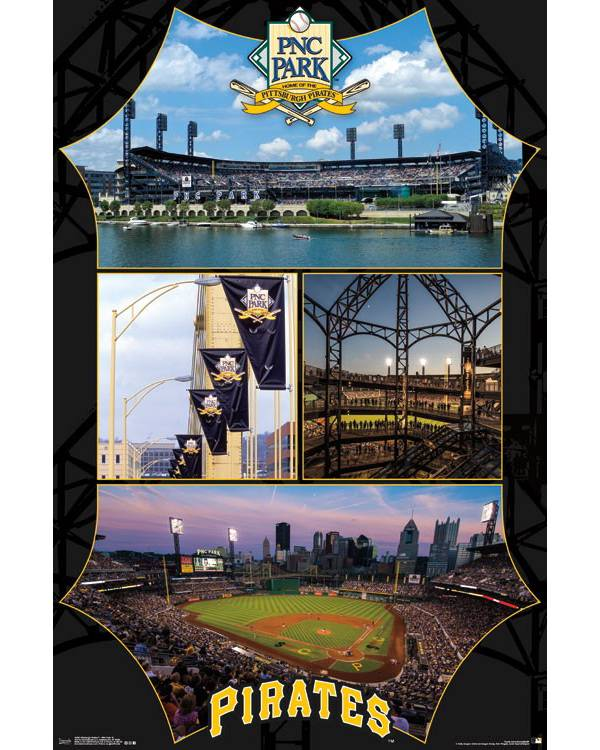MLB Pittsburgh Pirates Stadium Poster product image