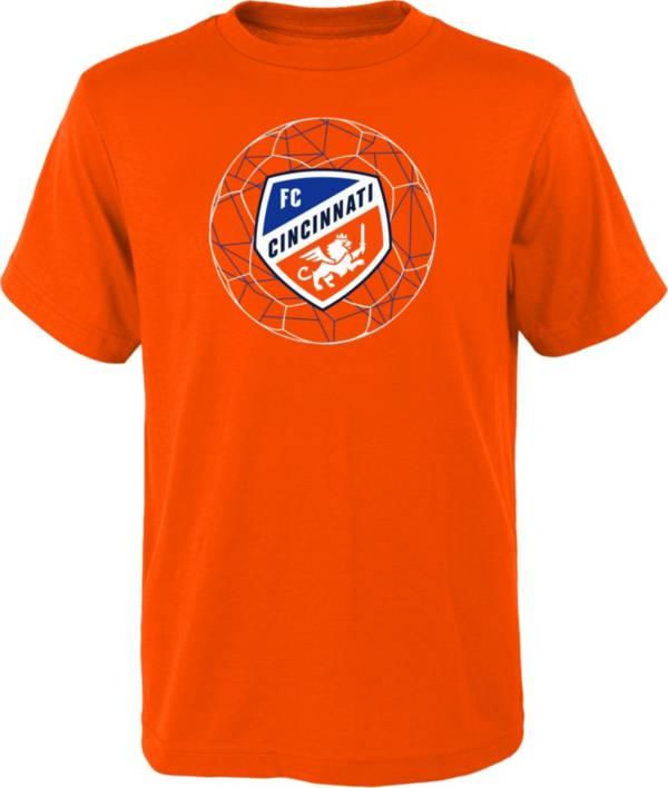 MLS Youth FC Cincinnati Quartz Orange T-Shirt product image