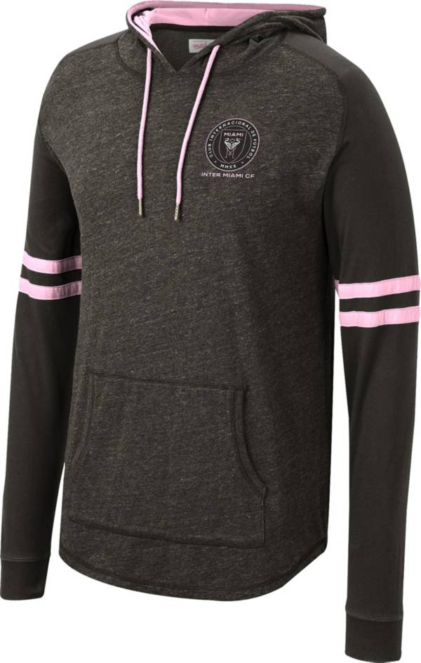 Mitchell & Ness Men's Inter Miami CF Black Lighweight Pullover Hoodie product image