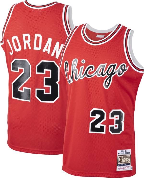 Mitchell & Ness Men's Chicago Bulls Michael Jordan #23 Authentic 1984-85 Red Jersey product image