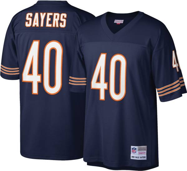Mitchell & Ness Men's Chicago Bears Gale Sayers #40 Navy 1969 Home Jersey