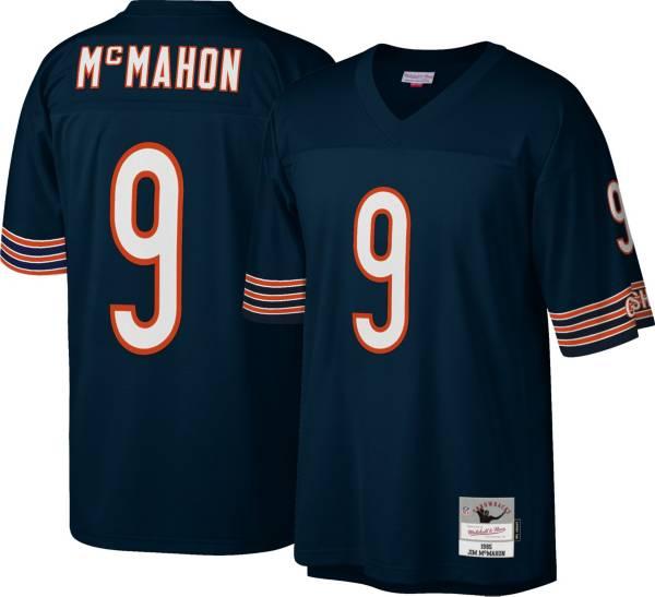 Mitchell & Ness Men's Chicago Bears Jim McMahon #9 Navy 1985 Home Jersey