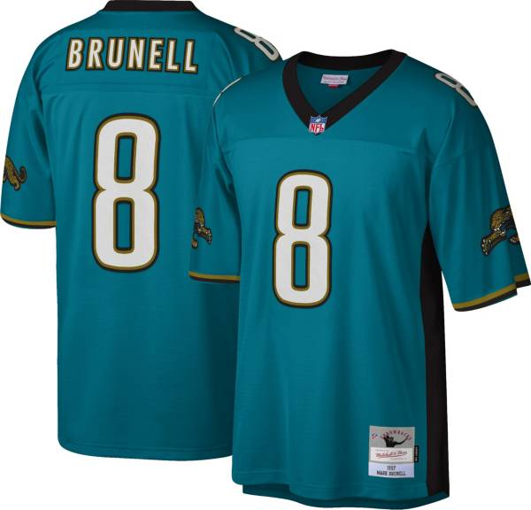 Mitchell & Ness Men's Jacksonville Jaguars Mark Brunell #8 Teal 1997 Home Jersey product image