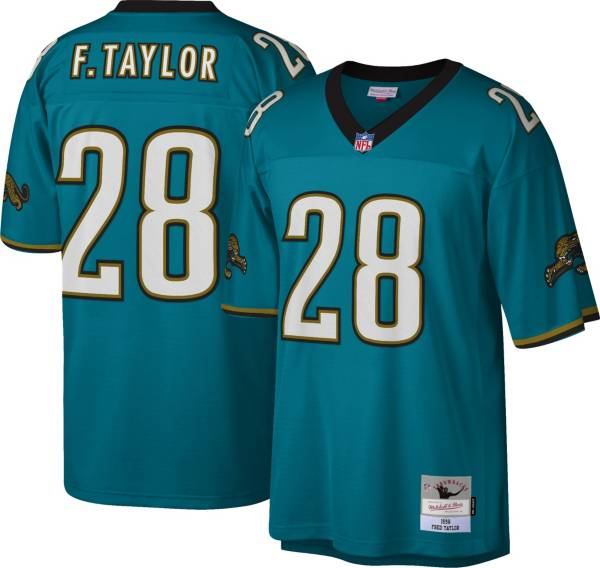 Mitchell & Ness Men's Jacksonville Jaguars Fred Taylor #28 Teal 1998 Home Jersey product image