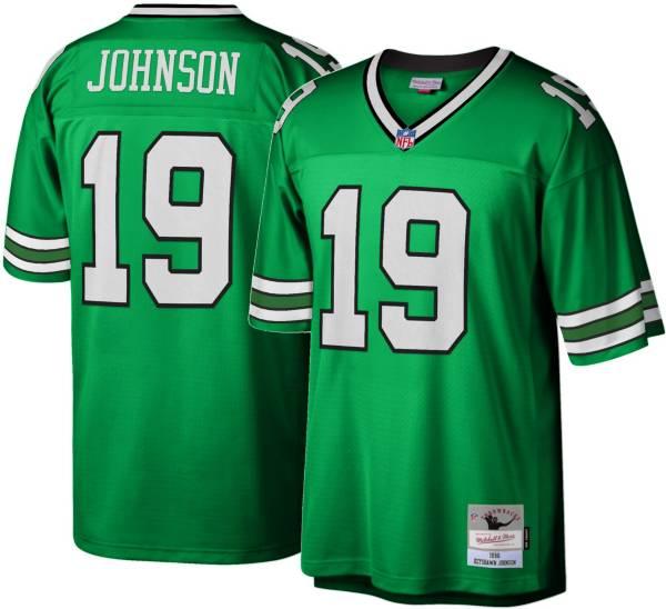 Mitchell & Ness Men's New York Jets Keyshawn Johnson #19 Green 1996 Home Jersey
