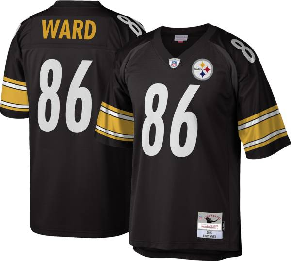 Mitchell & Ness Men's Pittsburgh Steelers Hines Ward #86 Black 2005 Home Jersey product image