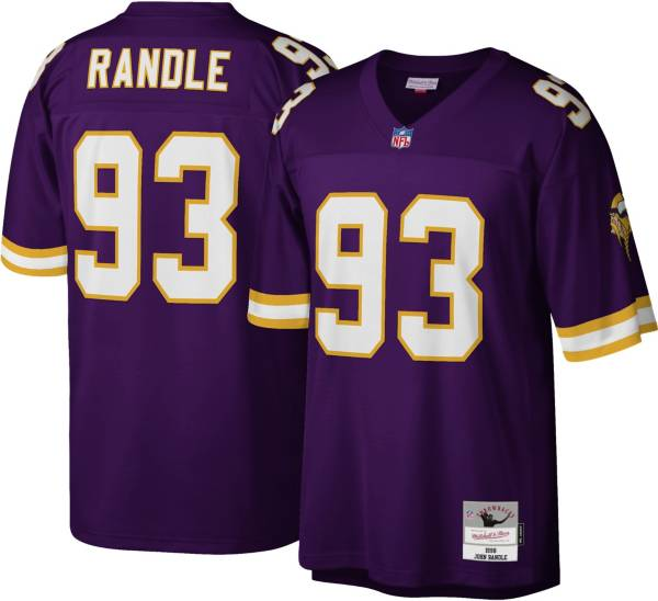 Mitchell & Ness Men's Minnesota Vikings John Randle #93 Purple 1998 Home Jersey product image