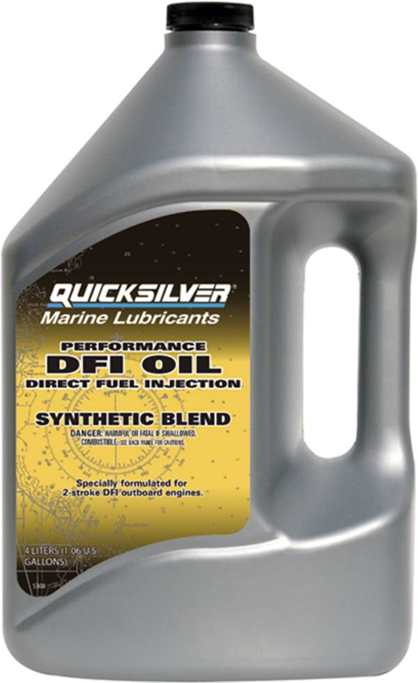 Quicksilver Performance 2-Cycle DFI Synthetic Engine Oil – 4L product image