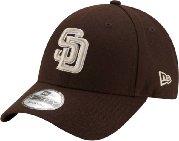 New Era Men's San Diego Padres Brown 9Forty Adjustable Hat product image