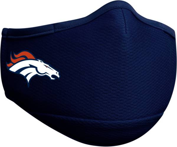 New Era Adult Denver Broncos Navy Face Mask product image