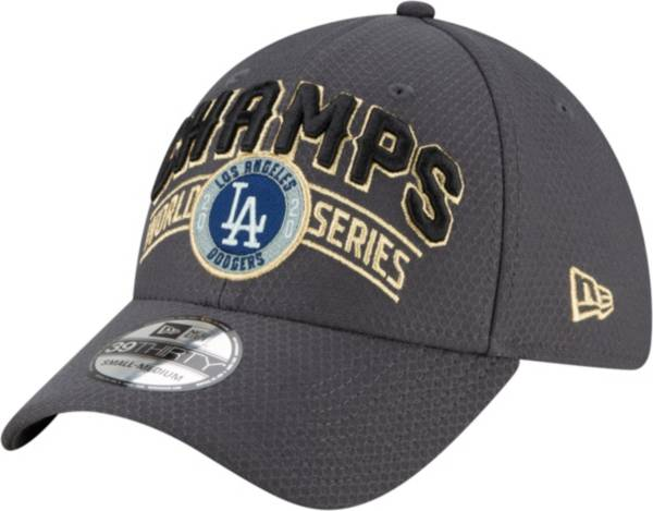 New Era Men's 2020 World Series Champions Locker Room Los Angeles Dodgers 39Thirty Stretch Fit Hat product image