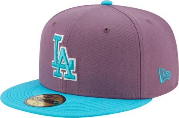 New Era Men's Los Angeles Dodgers Purple 59Fifty Colorpack Fitted Hat product image