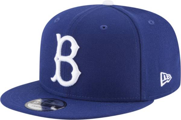 New Era Men's Brooklyn Dodgers Royal 1949 Cooperstown 9Fifty Snapback Hat product image