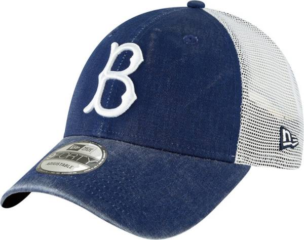 New Era Men's Brooklyn Dodgers Royal 9Forty Trucker Adjustable Hat product image