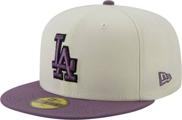 New Era Men's Los Angeles Dodgers White 59Fifty Colorpack Fitted Hat product image