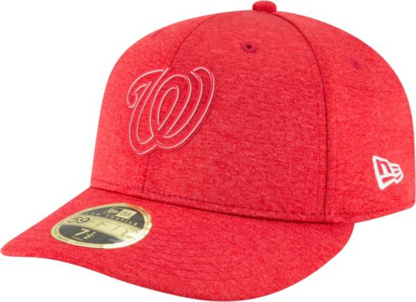 New Era Men's Washington Nationals Red 59Fifty Fitted Hat product image