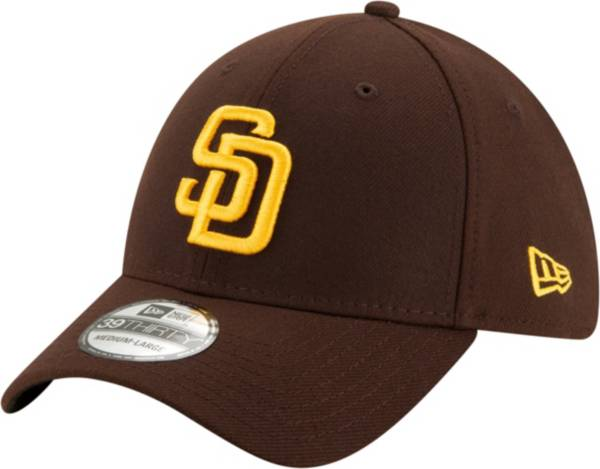 New Era Men's San Diego Padres Brown Team Classic 39Thirty Stretch Fit Hat product image