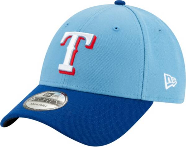 New Era Men's Texas Rangers Alternate 9Forty Light Blue Adjustable Hat product image