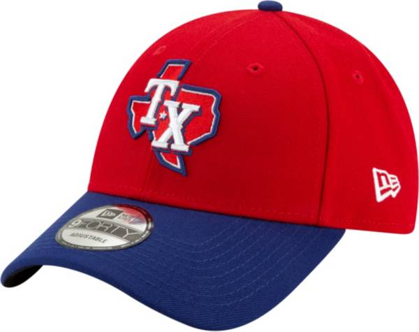 New Era Men's Texas Rangers Alternate 9Forty Red Adjustable Hat product image