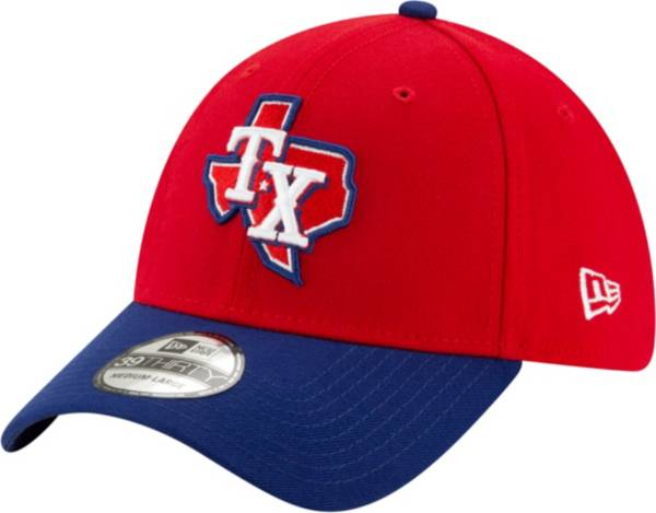New Era Men's Texas Rangers 39Thirty Alternate Red Stretch Fit Hat product image