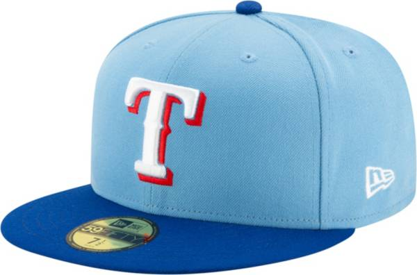 New Era Men's Texas Rangers Alternate Blue 59Fifty Fitted Hat product image
