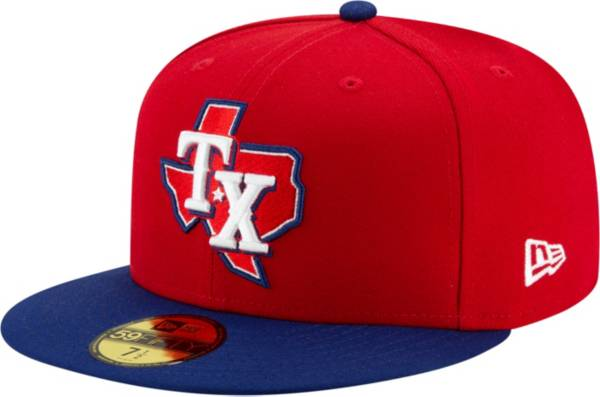 New Era Men's Texas Rangers Alternate Red 59Fifty Fitted Hat product image